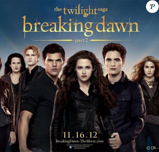 L'affiche ultime de l'ultime épisode du film Twilight - chapitre 5 : Révélation (2e partie)