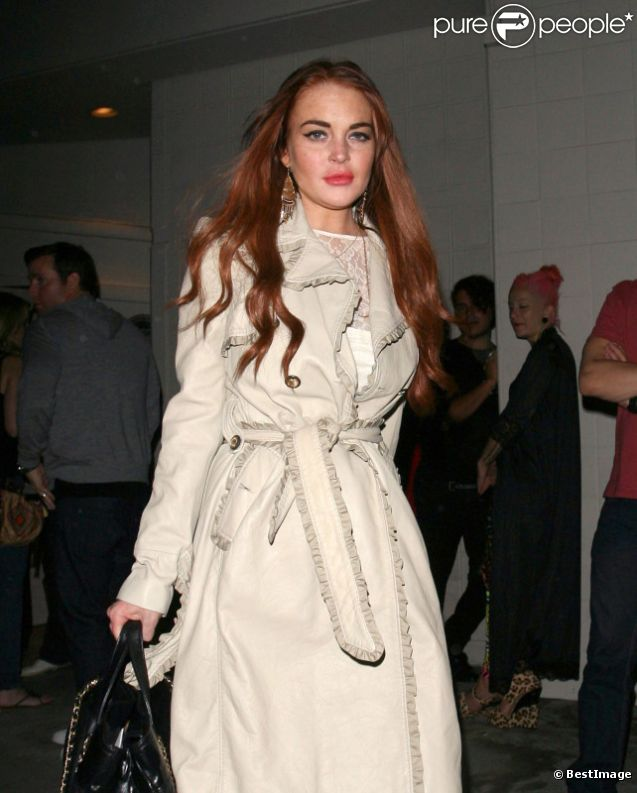 Lindsay Lohan, à Los Angeles, en juillet 2012.