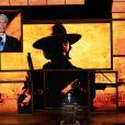 Clint Eastwood a fait une entrée remarquée, fidèle à son aura, lors du congrès républicain à Tampa le 30 août 2012