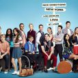 Poster saison 4 de  Glee , de retour sur les écrans le 13 septembre 2012.