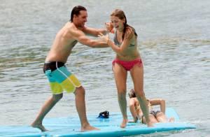 Peter Facinelli, divorcé mais heureux, s'éclate avec ses trois filles à Hawaï