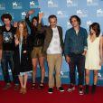 L'équipe du film Après mai lors de la 69e Mostra de Venise 2012