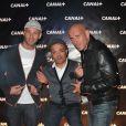 Les Kaira lors de la soirée Canal + à la Cité de la Mode et du Design à Paris le 6 septembre 2012