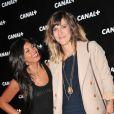 Daphné Bürki et Nawell Madani lors de la soirée Canal + à la Cité de la Mode et du Design à Paris le 6 septembre 2012