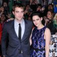 Kristen Stewart et Robert Pattinson lors du dernier round promo en date de  Twilight  en novembre 2011.