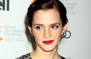 Emma Watson, belle comme une fleur, poursuit sa vie après Harry Potter