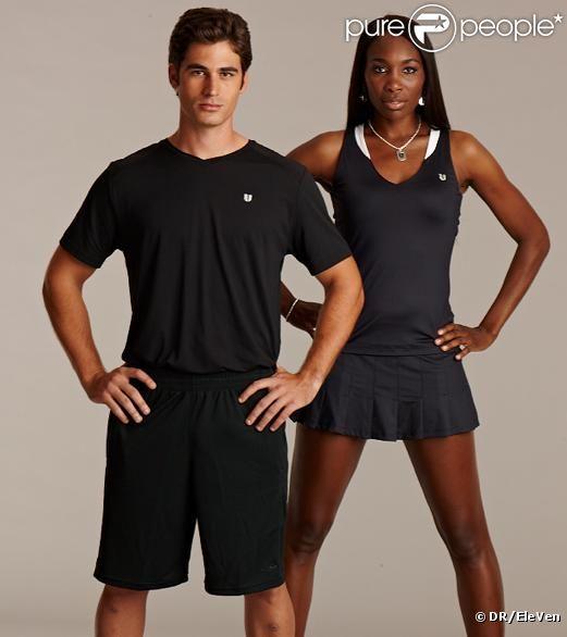 Venus Williams and her model boyfriend Elio Alberto Pis