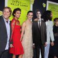 Nina Dobrev, Emma Watson, Ezra Miller et Mae Whitman à la première du  Monde de Charlie  ( The Perks Of Being A Wallflower ) le 10 septembre 2012 à Los Angeles.