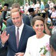 Kate Middleton et le prince William lors de leur voyage officiel à Kuala Lumpur en Malaysia le 14 septembre 2012