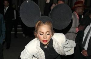 Lady Gaga à la Fahsion Week de Londres : Héroïne excentrique d'un chapelier fou