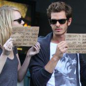 Emma Stone et Andrew Garfield : Un joli pied de nez aux paparazzi