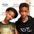 Willow Smith et son frère Jaden à Los Angeles le 1er juillet 2012.