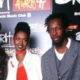 Les Fugees aux Brit Awards, à Londres, en 1997.