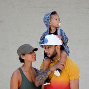 Alicia Keys : Heureuse et épanouie en compagnie des deux hommes de sa vie