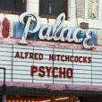 Le tournage de  Hitchcock  à Los Angeles, le 30 mai 2012.