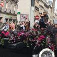 Lady Gaga à Paris, le 23 septembre 2012.
