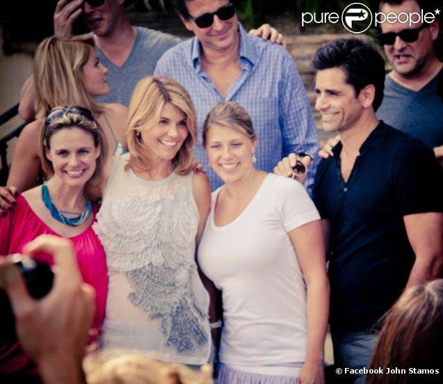 Les acteurs de la série  La fête à la maison  à Los Angeles - septembre 2012.