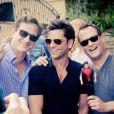 Bob Saget, John Stamos et Dave Coulier de la série  La fête à la maison  à Los Angeles - septembre 2012.