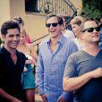 John Stamos, Bob Saget et Dave Coulier de la série  La fête à la maison  à Los Angeles - septembre 2012.