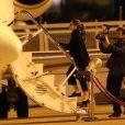 Jennifer Lopez prend l'avion et quitte Paris pour Lisbonne