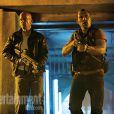 Bruce Willis et Jai Courtney dans la première image père-fils du film  Die hard 5 :   A Good Day to Die Hard , en salles le 20 février 2013.