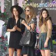 Les superbes AnnaLynne McCord, Shenae Grimes et Jessica Lowndes sur le tournage de la cinquième saison de 90210, le 3 octobre 2012 à Santa Monica