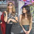AnnaLynne McCord, Shenae Grimes et Jessica Lowndes sur le tournage de la cinquième saison de 90210, le 3 octobre 2012 à Santa Monica