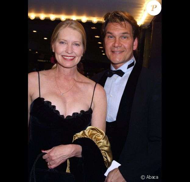 Patrick Swayze, en avril 2002 à Los Angeles.