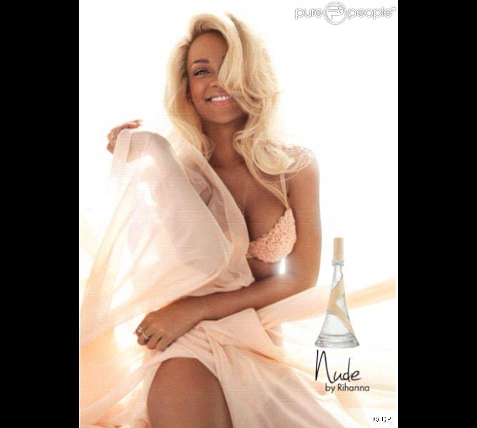 Rihanna, publicité pour son parfum  Nude , octobre 2012