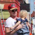 Eric Dane et sa petite Billie, deux ans, à West Hollywood, le mercredi 3 octobre 2012.