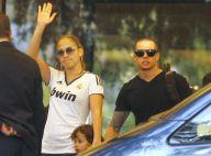 Jennifer Lopez : Avec ses jumeaux Max et Emme, fans de foot à Madrid !