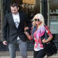 Christina Aguilera fait des courses avec son chéri Matthew Rutler, à New York, le mardi 9 octobre 2012.