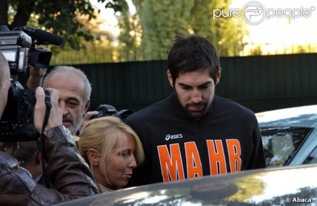 Nikola Karabatic à Paris, le 30 septembre 2012.
