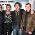 Daniel Duval, Gerard Lanvin, Olivier Marchal, Tchéky Karyo et Lionel Astier à la première du film  Les Lyonnais  à Paris, le 27 novembre 2011.