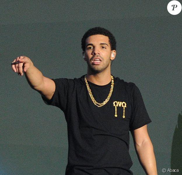 Drake lors du Wireless Festival à Londres. Le 7 juillet 2012.