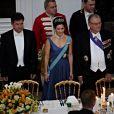 Dîner d'Etat au palais de Fredensborg le 23 octobre 2012 en l'honneur de la visite présidentielle slovaque au Danemark.