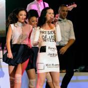 Katy Perry, glamour à Las Vegas pour soutenir Barack Obama