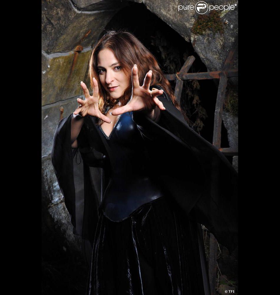 Marilou Berry dans la peau de la fée Morgane dans le téléfilm de TF1 Merlin