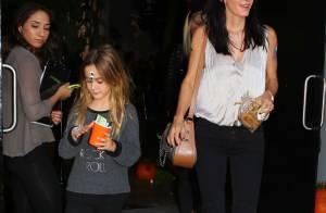 Courteney Cox et sa fille Coco, mi-ange, mi-démon, fêtent Halloween