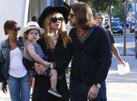 Rachel Zoe, son mari et leur fils Skyler : Shopping et chasse à la citrouille