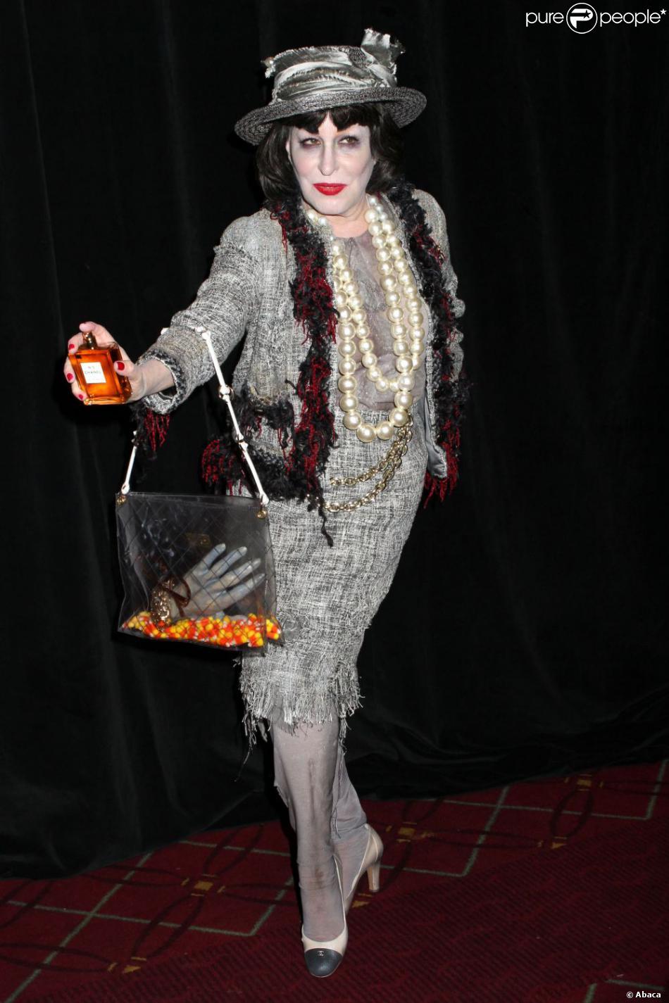 Bette Midler au bal annuel d'Halloween qu'elle organise pour sa fondation, à New York, le 31 octobre 2012.