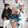 Le groupe Blondie au bal annuel d'Halloween organisé par Bette Midler, à New York, le 31 octobre 2012.