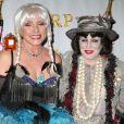 Dita Von Teese au bal annuel d'Halloween organisé par Bette Midler, à New York, le 31 octobre 2012.