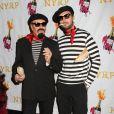 Michael Kors et son mari au bal annuel d'Halloween organisé par Bette Midler, à New York, le 31 octobre 2012.