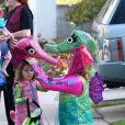 Alyson Hannigan et sa fille pour Halloween.