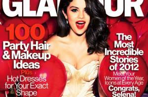 Selena Gomez : Femme de l'année sexy en couverture du Glamour US