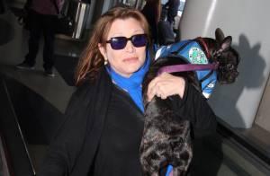 Carrie Fisher : Star Wars 7 se prépare, mais la princesse Leia passe incognito