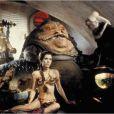 Carrie Fisher, princesse Leia Organa dans la saga Star Wars.