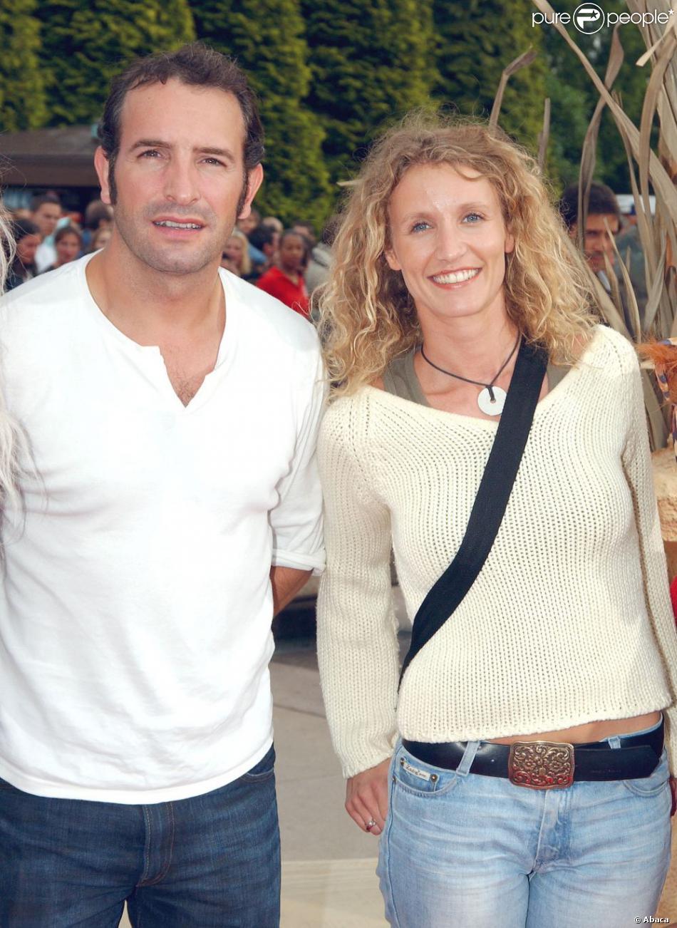 Alexandra lamy et jean dujardin en 2004 for Enfant dujardin