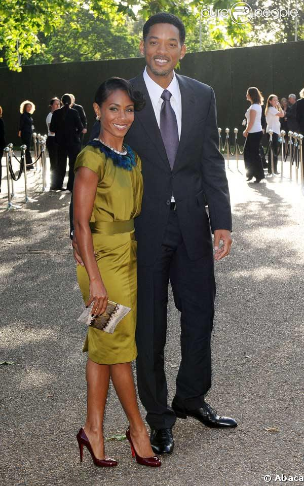 Will Smith et sa femme Jada Pinkett-Smith